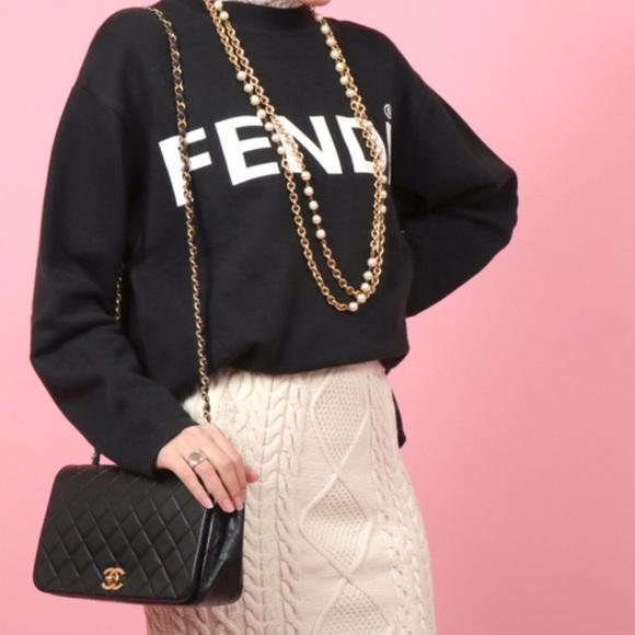 bb9d4dde Chanel Vintage Full Flap Bag(1989-1991)